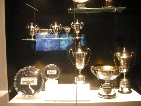 Wimbledon tennis trophies