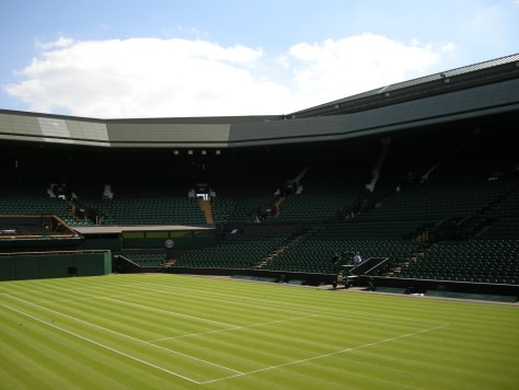 Wimbledon Tennis court