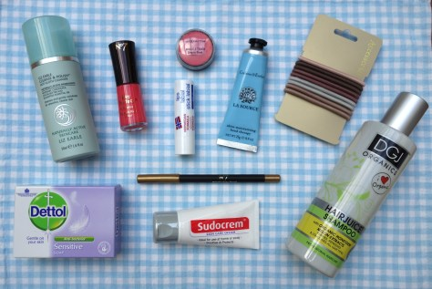 Beauty products for under £10