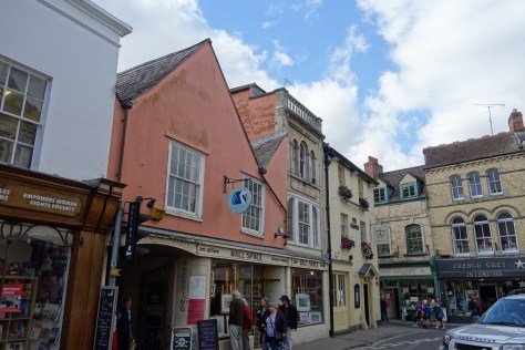 Cirencester town shops