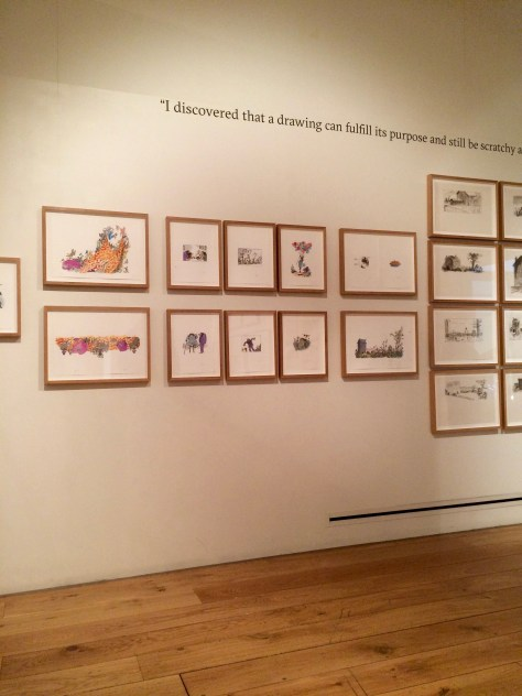 Quentin Blake exhibition