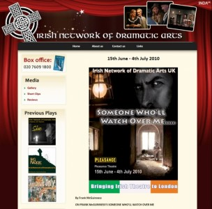 Irish network of dramatic arts