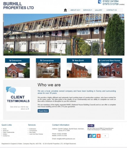 Burhill properties ltd
