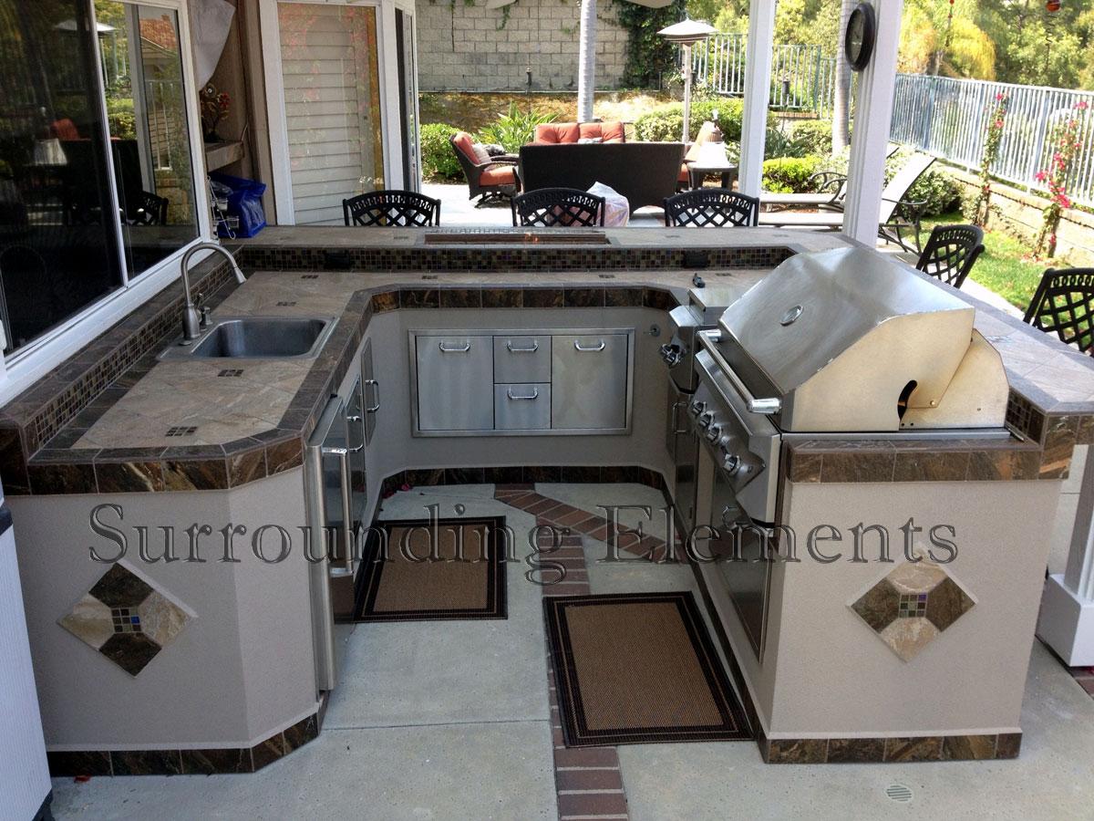 U Shaped Outdoor Kitchen Shapeyourmindscom