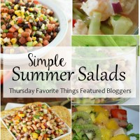 Simple Summer Salads - Thursday Favorite Things
