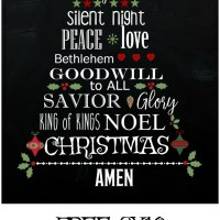 Free Christmas Printable - 3 Ways