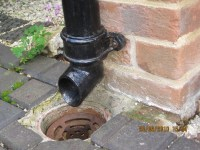 E3  Rainwater pipes and gutters
