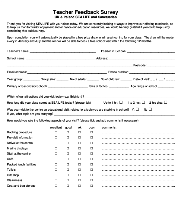 Download All Types of Survey Templates Survey Templates and Worksheets - ms word survey template