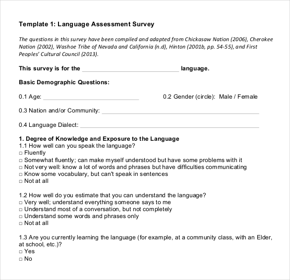 Demographic Survey Templates New Research Proposal Template Elegant - make a survey in word
