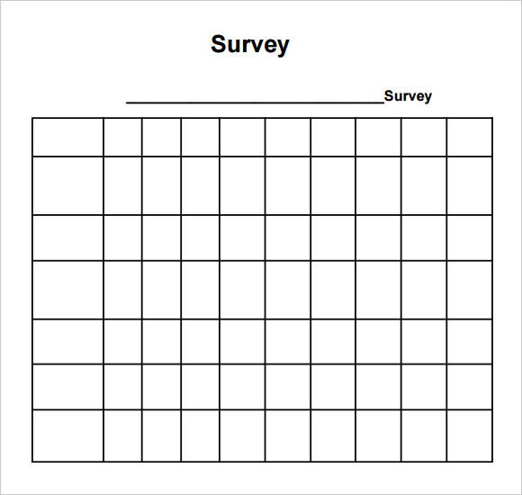 example of social media survey Survey Templates and Worksheets