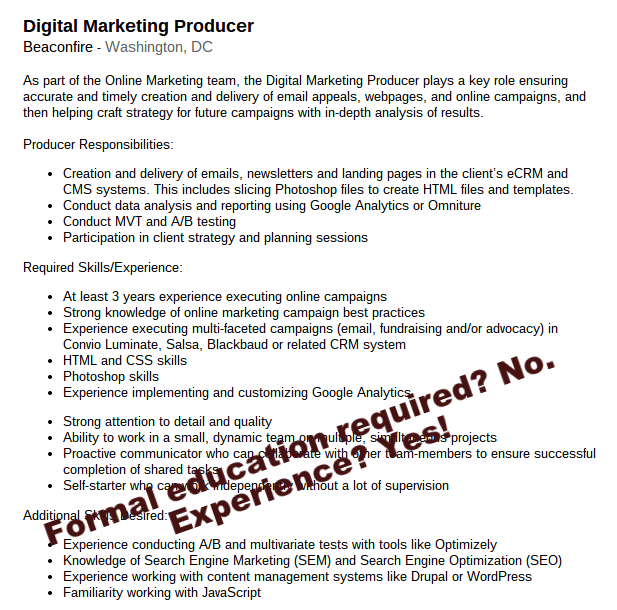 Job Description Online Marketing Specialist – Digital Marketing Job Description