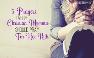 Dear Momma, Pray For Your Littles
