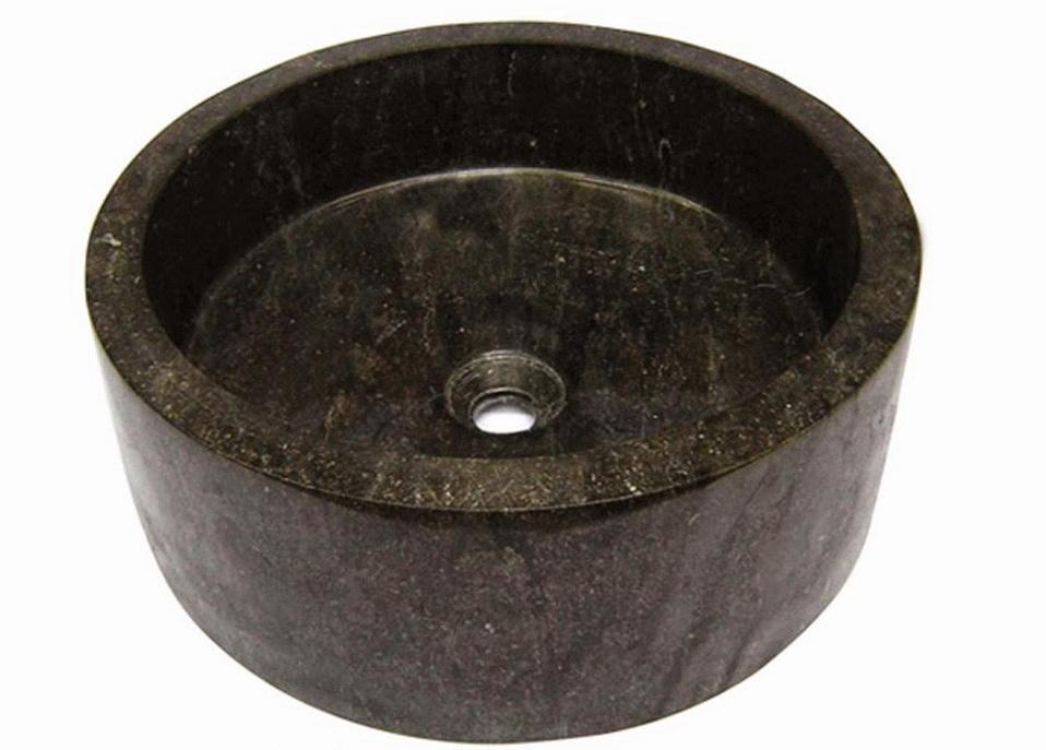 Surya Java Furnindo Cv Drum Full Polished Black Marble Sink