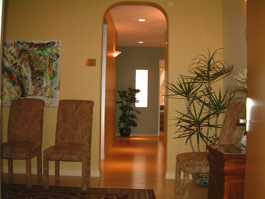 chiro office entry