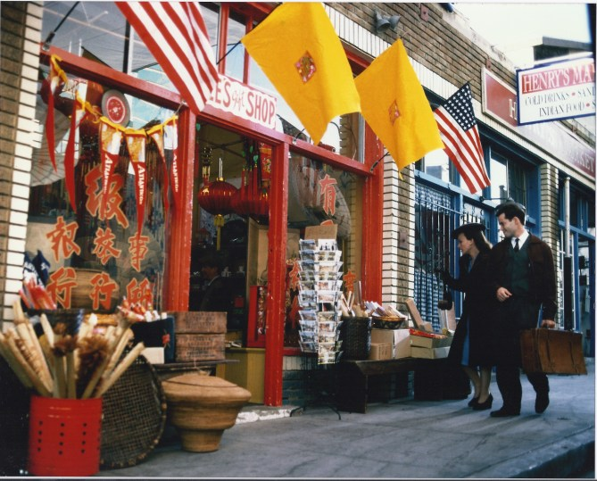 Set for Chinese Store in Coney Island, circa 1930's