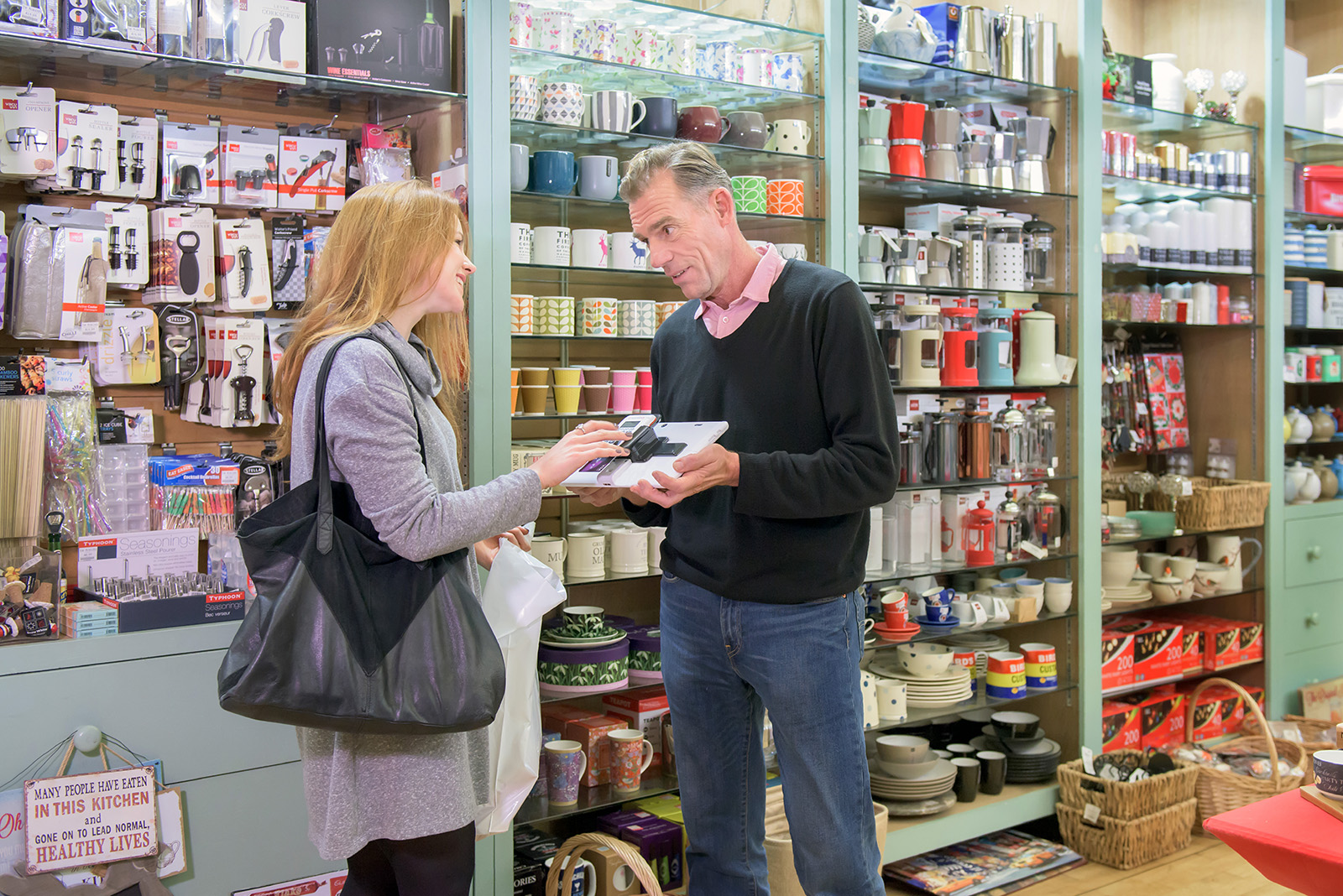 Kitchenware Shop Worldpay My Business Hub Photography Shoot Susannah Fields