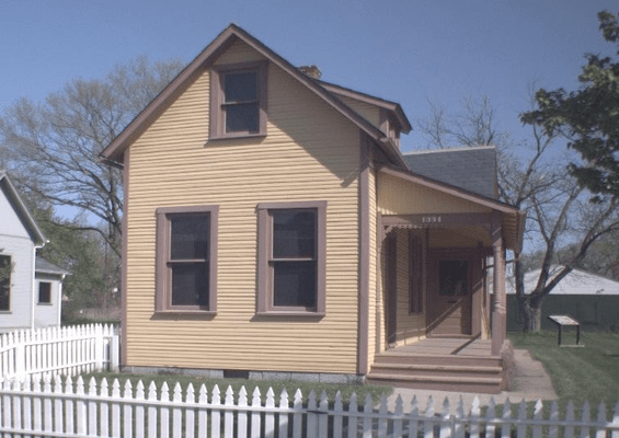 Capt Eddy Rickenbacker House in Columbus OH