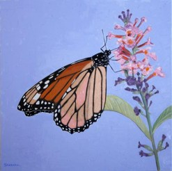 Monarch 2, giclee print by Susan Sternau