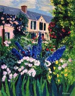 Monet's House and Garden, giclee print by Susan Sternau