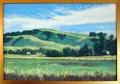 Sonoma 1, framed, by Susan Sternau