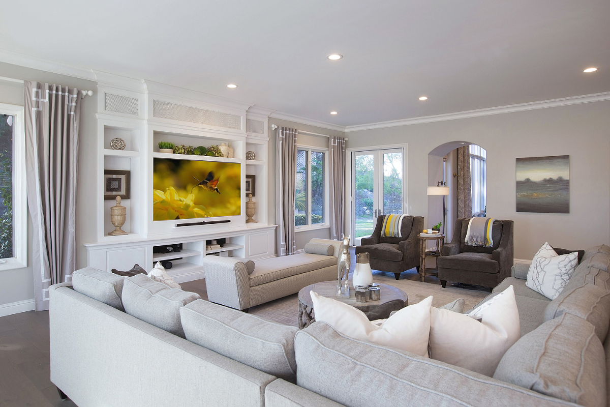 Award Winning Rancho Santa Fe Family Room Remodel