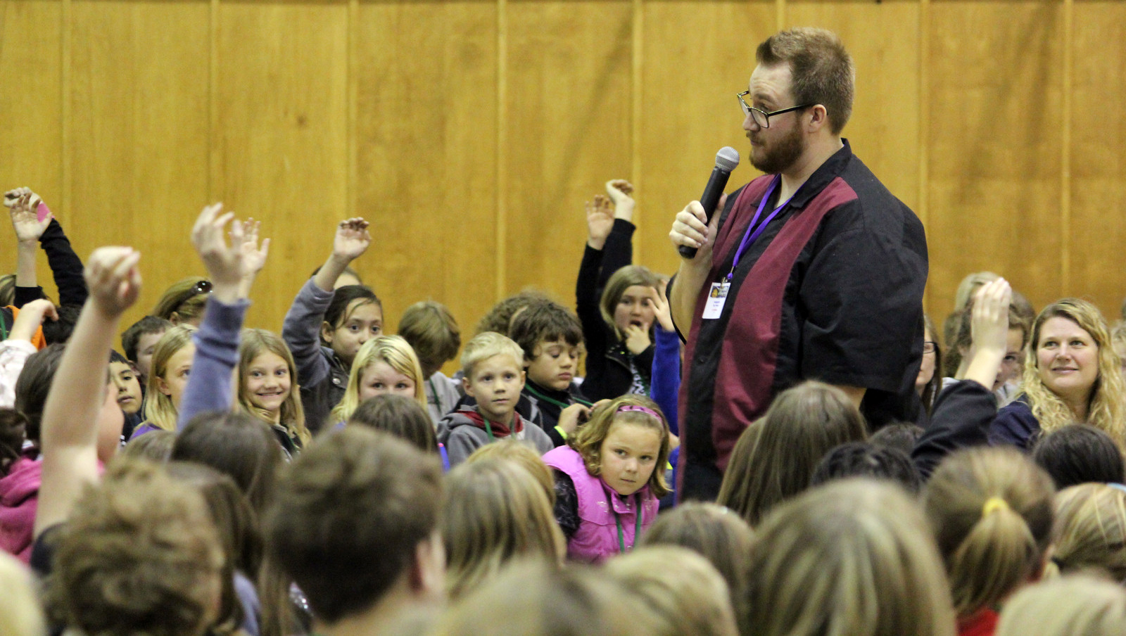Friese Witjes Gamma Annual Literature Jamboree Helps Students Follow Their