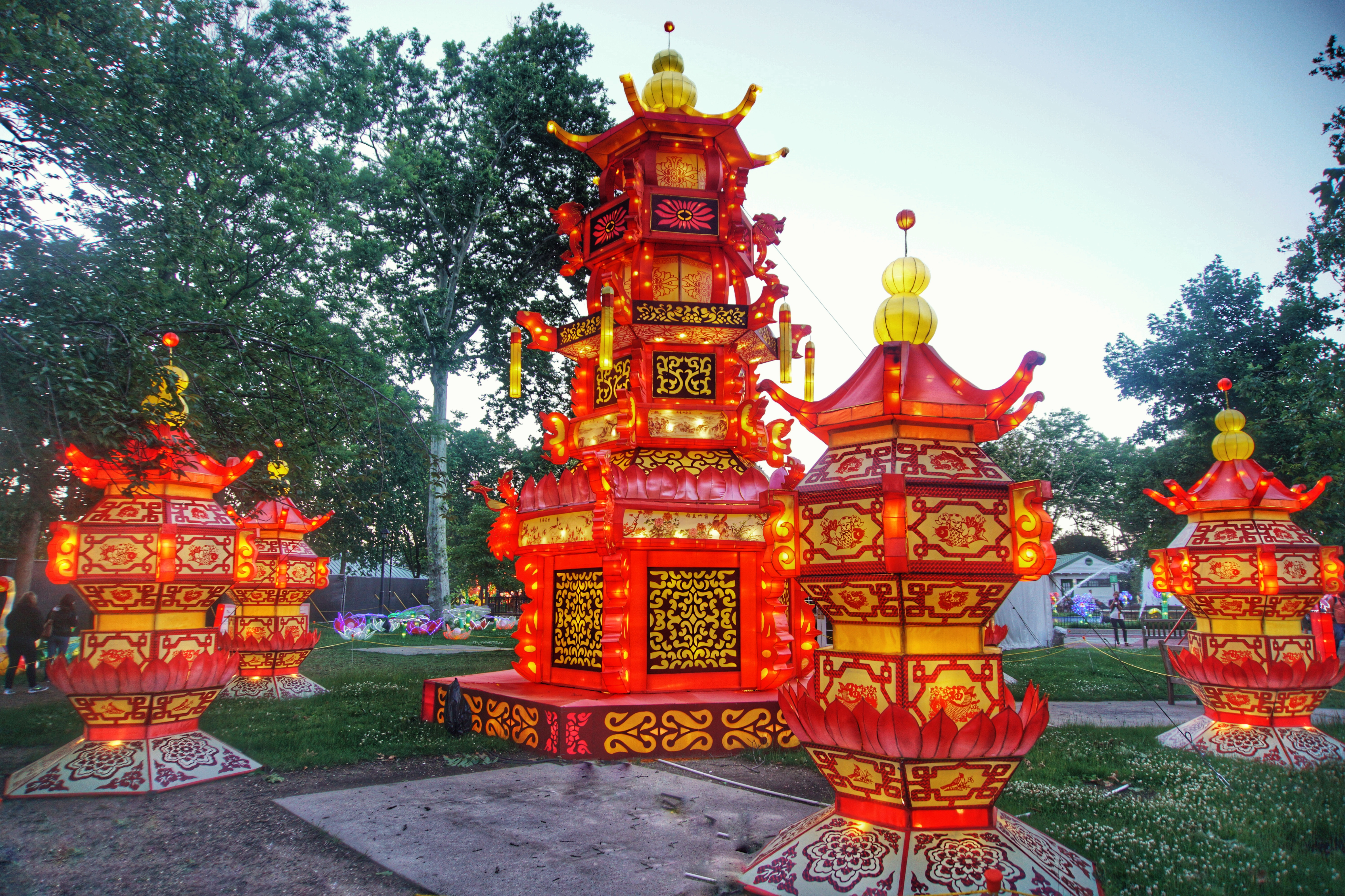 Happy Chinese Lantern Festival In Photos Philly Chinese Lantern Festival 2016