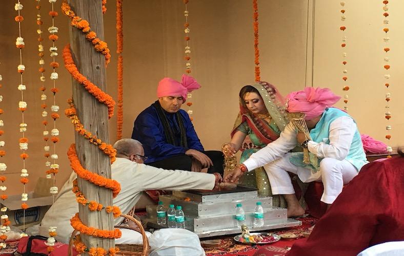 Holi festival con matrimonio indiano 05
