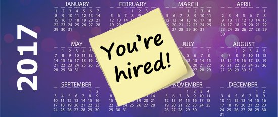 January 2017 - What\u0027s the best month to find a new job? Sussex - leading job search sites