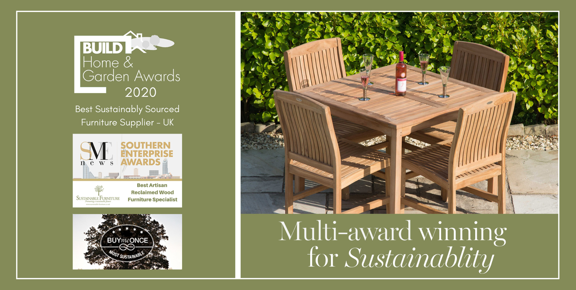 Reclaimed Wood Furniture Sustainable Furniture - Garden Furniture Clearance Edinburgh