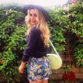 DIY shorts with Rebag sustainable daisy ecofashion ecofriendly fashion sustainability DIY blogger