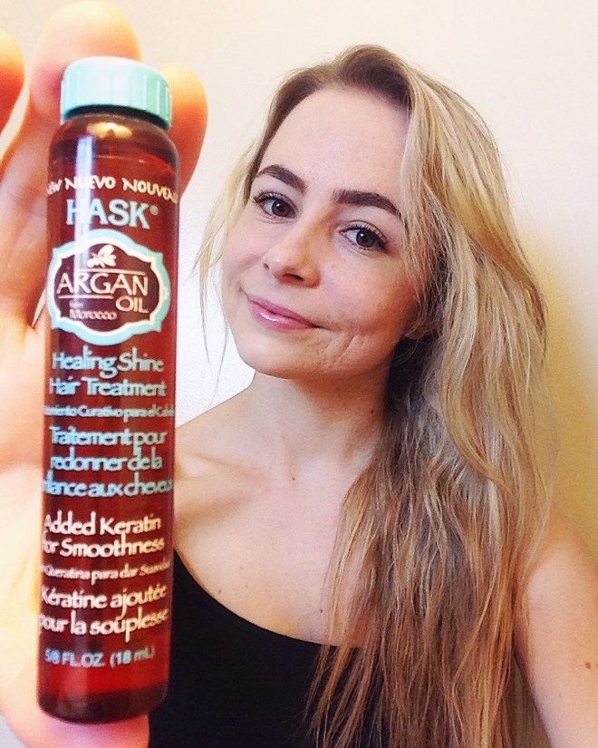 argan oil hair care products HASK eco beauty ecobeauty sustainable picture