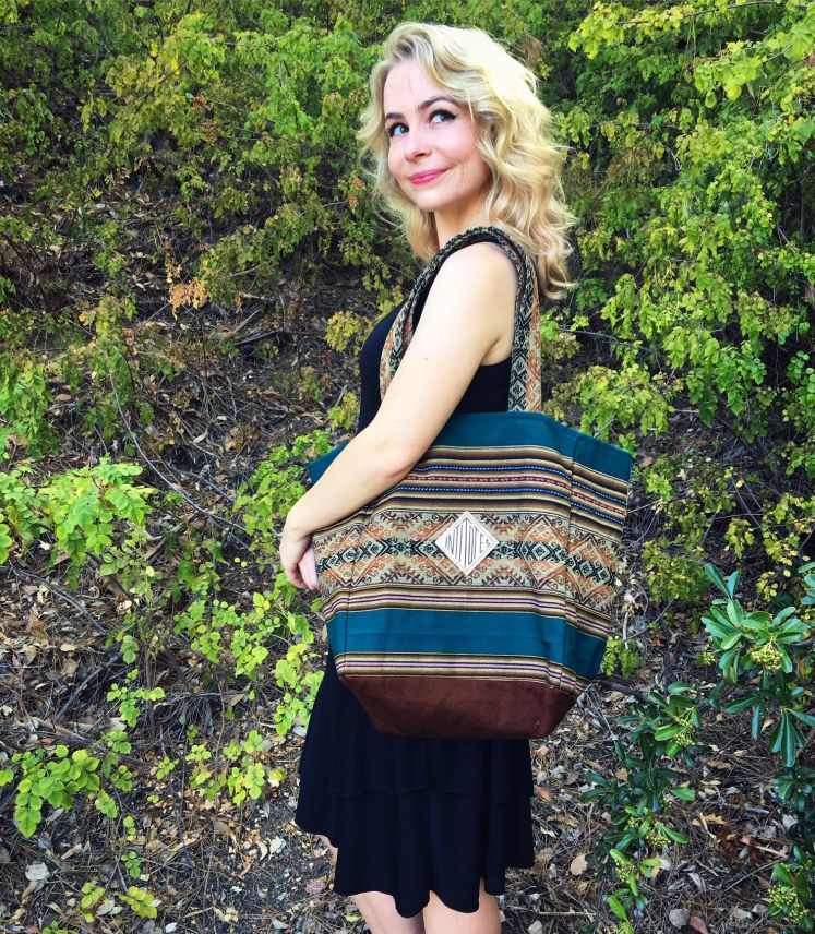 reusable tote bag bags review tea peruvian stripes sustainable south american inti fairtrade blog blogger