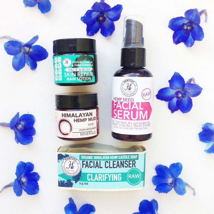 hemp beauty oil vegan cruelty-free products haul texas foxy boxy non gmo gluten free kosher sustainable subscription box