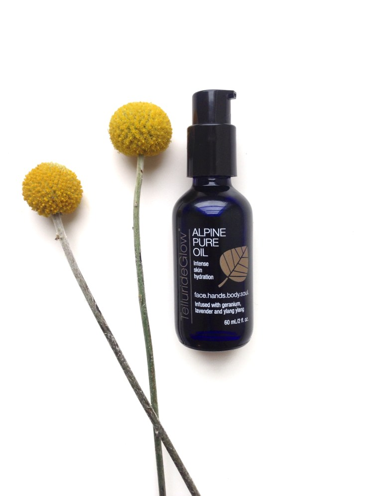 alpine pure oil facial organic all natural nontoxic coconut jojoba ecofriendly beauty green eco sustainable daisy