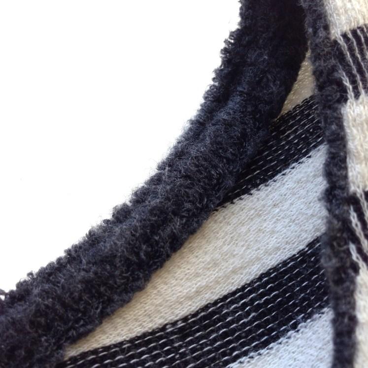 striped long sleeve longsleeve shirt t-shirt sustainable fashion ecofashion organic recycled cotton bleu salt review blog blogger
