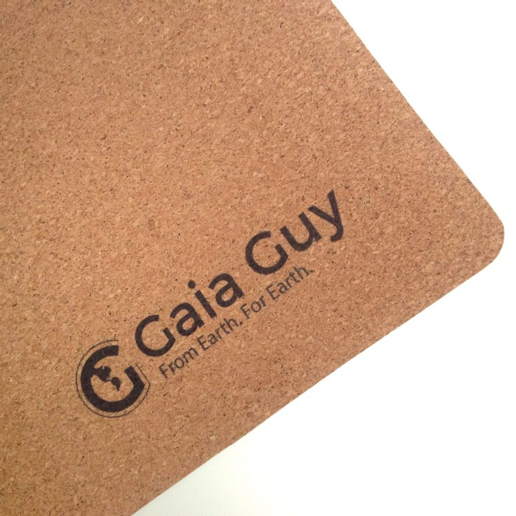cork yoga mat sustainable biodegradable product gaia guy blog review blogger eco eco-friendly nontoxic