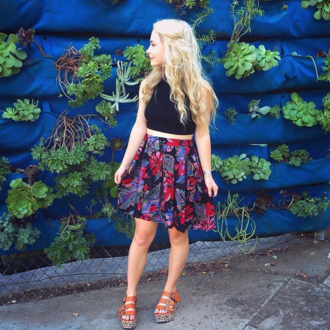 platform sandals Sustainable Daisy: thrift shopping upcycling sustainable fashion recycled clothes ecofashion