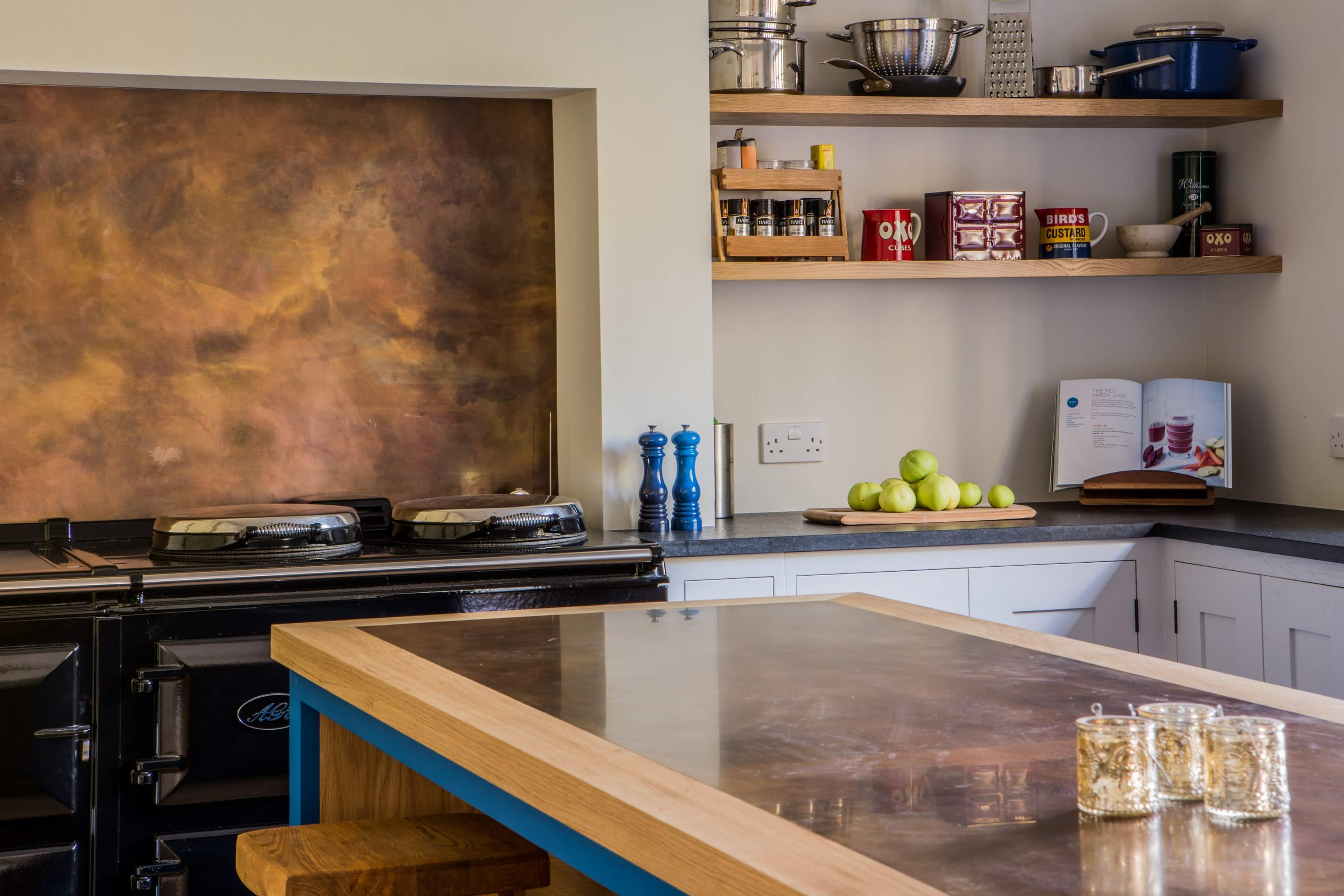 Long Island Kitchen Design Brass & Copper Worktops: Pros & Cons - Sustainable Kitchens