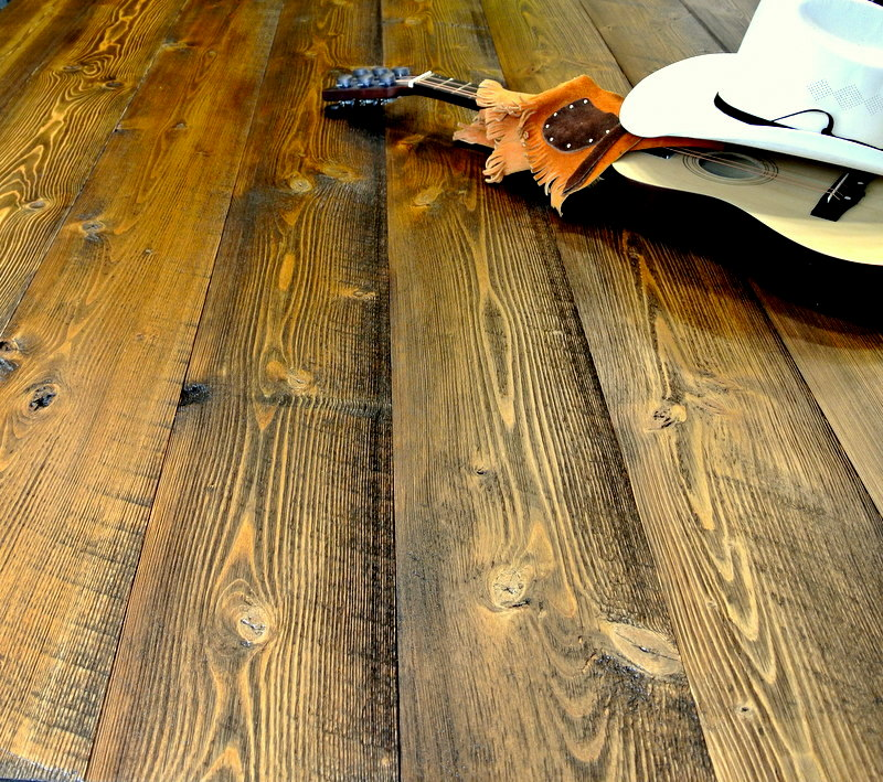 Douglas Plank Authentic Circular Sawn Flooring - Sustainable Lumber Company
