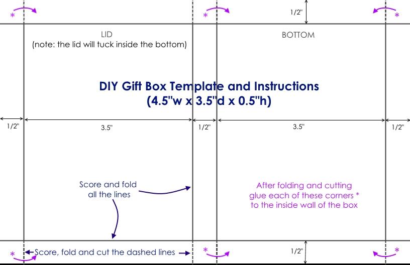 DIY Printable Gift Card Holders {Free Template} \u2013 Sustain My Craft Habit