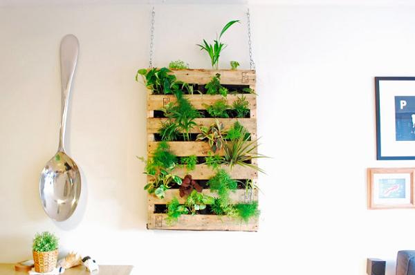 Ideias Com Paletes Reutilizados Jardim E Horta