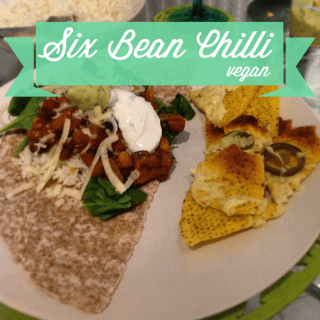Six bean chilli