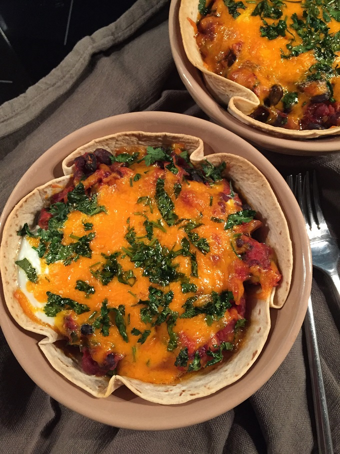 Baked Spicy Mexican Eggs