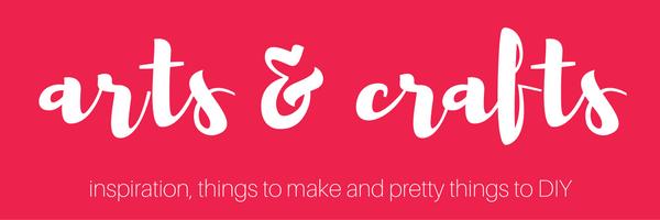 Arts and Crafts | Susty Meals | Sarah Irving