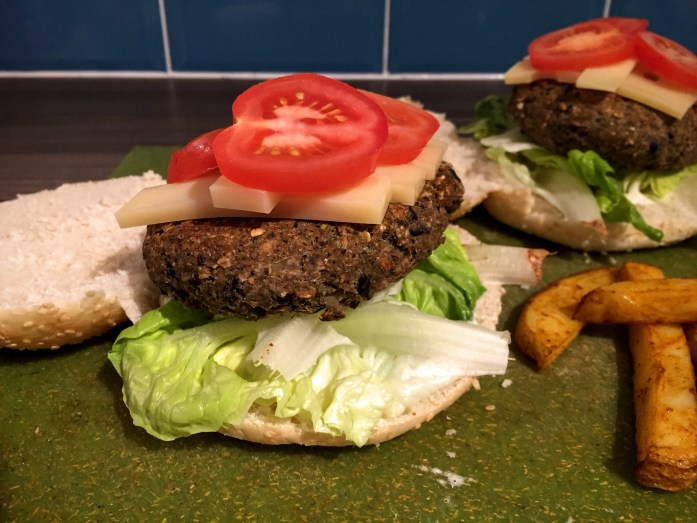 Broccoli and Blackbean Burgers | Vegan Burger Recipe| Susty Meals | Sarah Irving