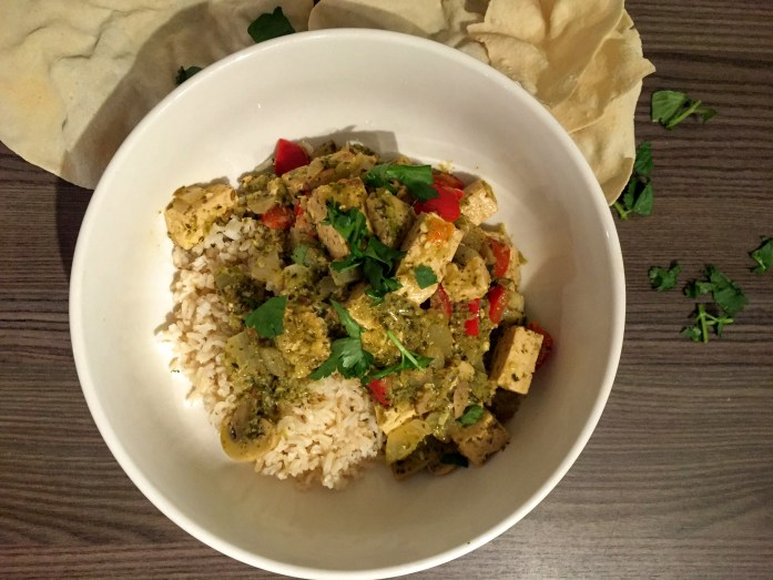 Tofu That Green Curry | Vegan Recipes | Vegetarian Recipes | Sarah Irving | Susty Meals