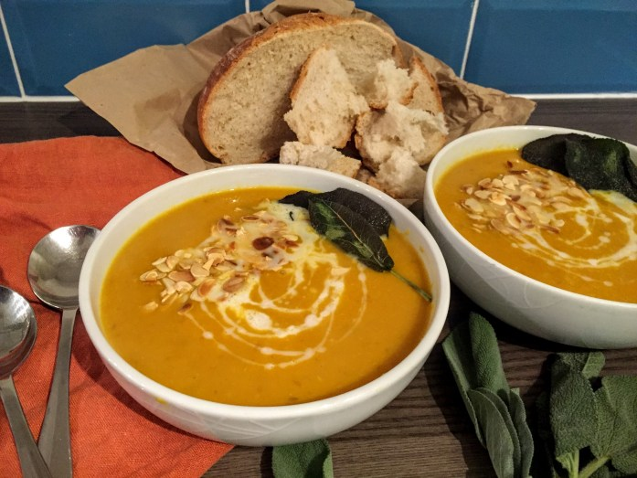 Butternut Squash, Turmeric and Coconut Soup   Vegan Recipes   Vegetarian Recipes   Soup Recipes   Sarah Irving   Susty Meals   Manchester
