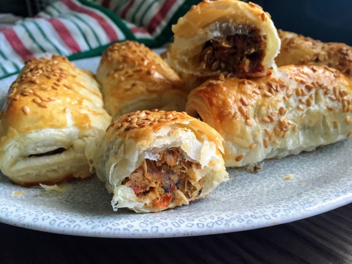 Homemade Vegan Sausage Rolls
