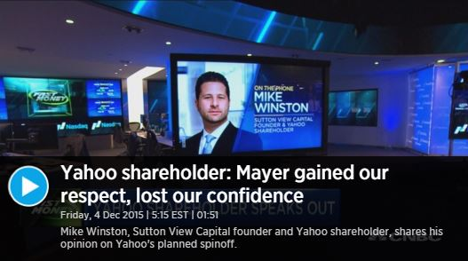 Mike winston of sutton view capital featured on cnbc for 140 broadway 46th floor